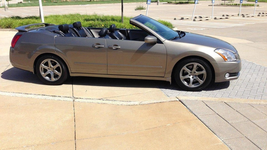 One Off Nissan Maxima Convertible With Suicide Doors Fails To Sell