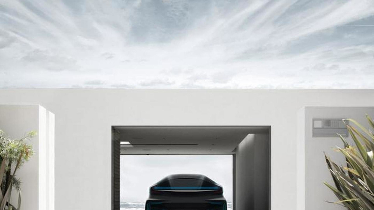 Faraday Future first model teaser image