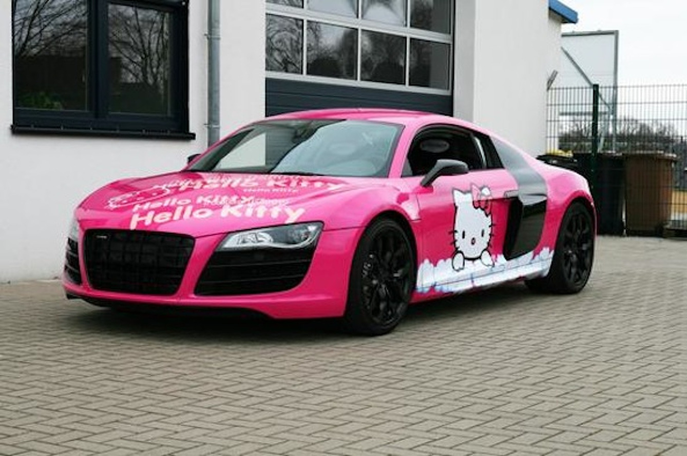 Audi R8 Hello Kitty is Horrendously Adorable