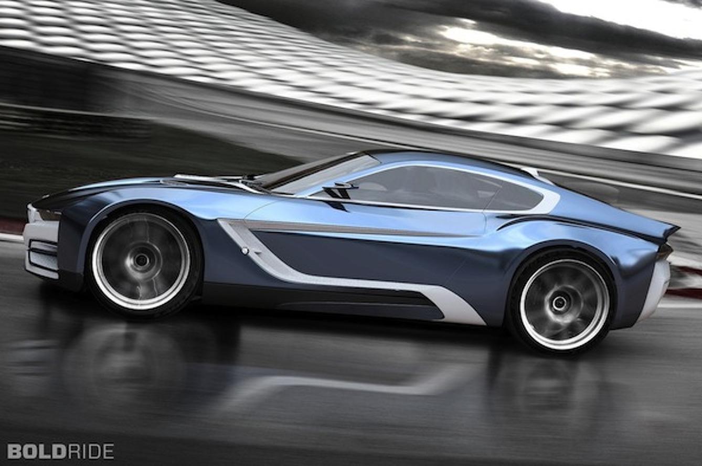 """BMW M3i/320 Concept: The """"i"""" Line gets a Supercar Makeover"""