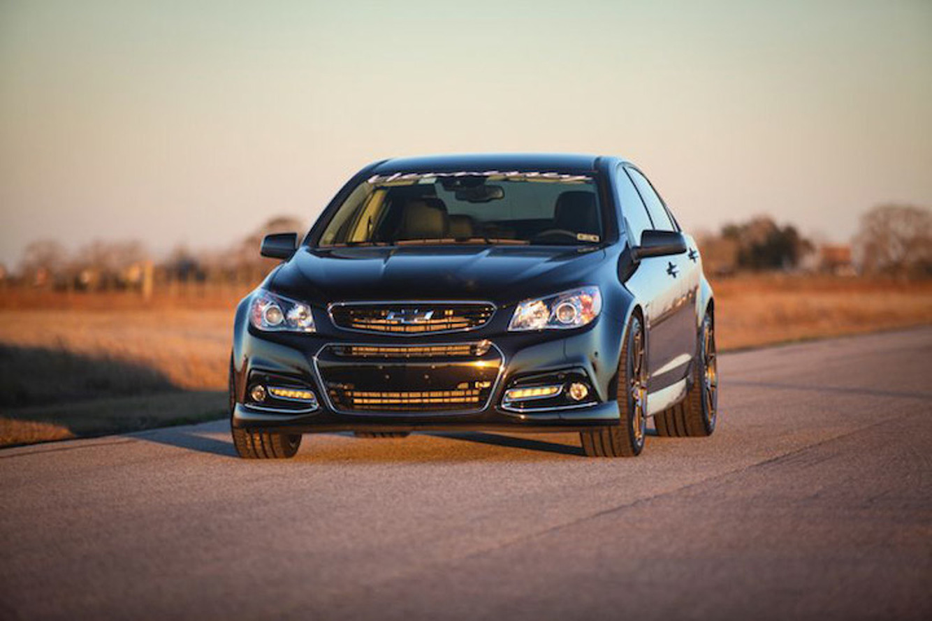 Hennessey-Tuned Chevrolet SS Churns Out 1,000 HP, Has 6-Speed Manual
