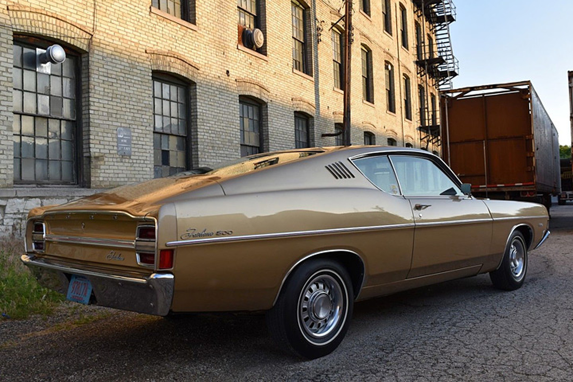 Not a mustang this ford fairlane fastback is a wonderful survivor