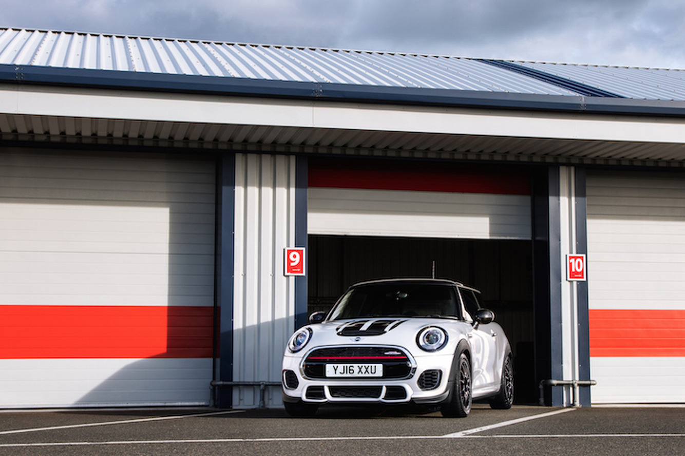 Limited Edition Mini John Cooper Works Challenge is for the UK Only