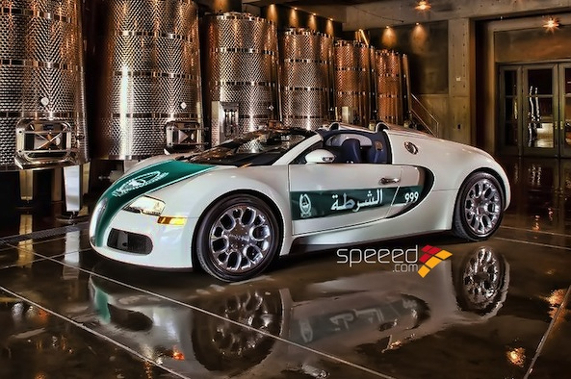 Watch The Dubai Police Fleet of Supercars In Action