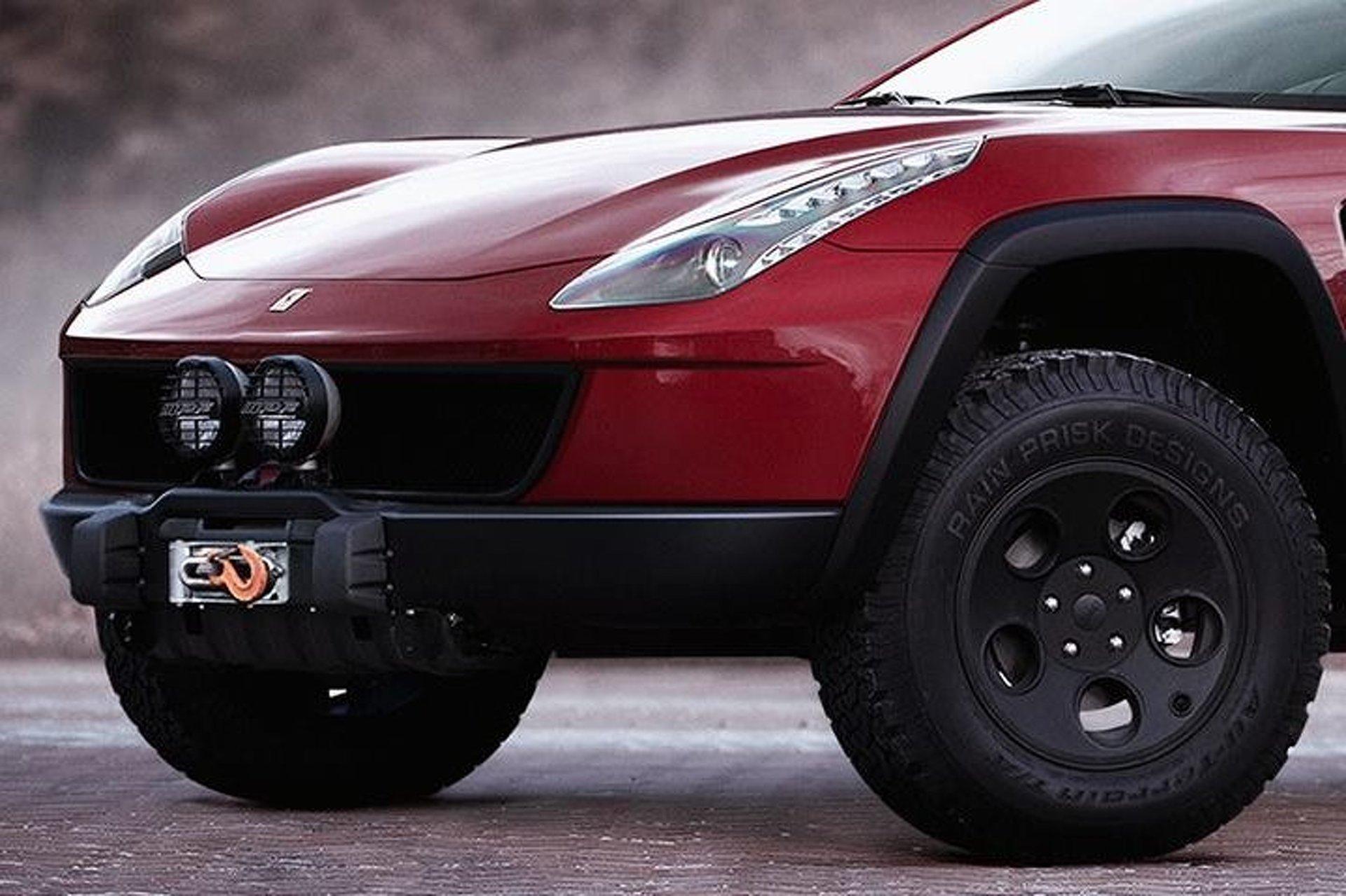 Ferrari Ff Imagined As A 4x4 Off Roading Machine 1179949