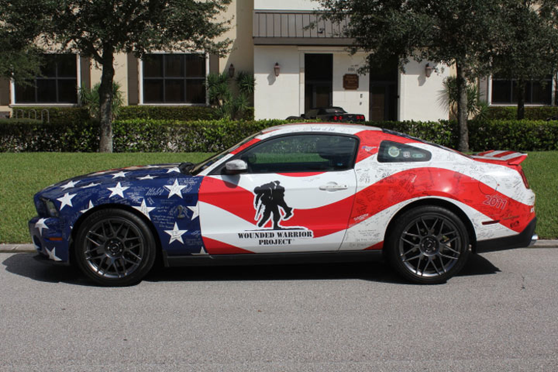 This Shelby GT500 Goes Big for Wounded Warrior Project