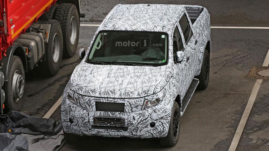 Mercedes GLT photos espions