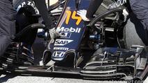 McLaren MP4-31 front wing detail
