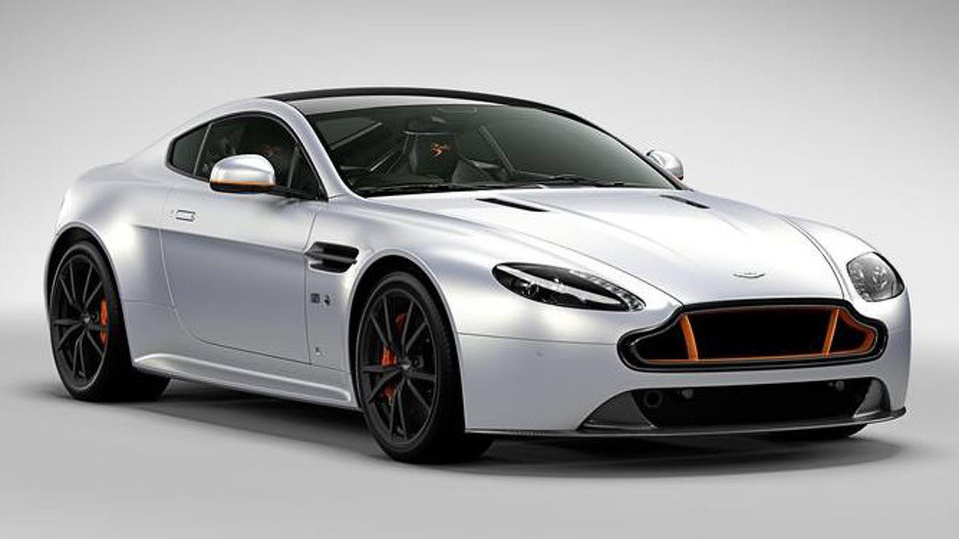 Aston Martin V Vantage S Blades Edition Introduced Video - Aston martin v8 vantage s