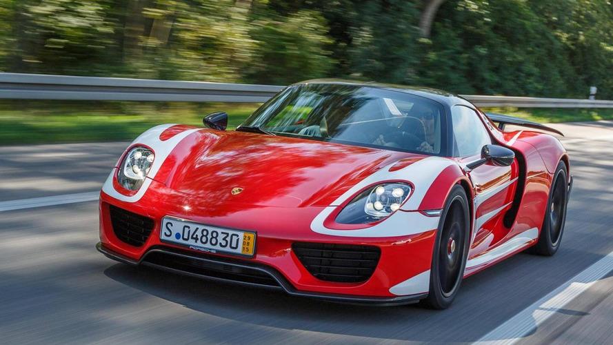 Porsche - Pas de descendante pour la 918 Spyder dans l'immédiat