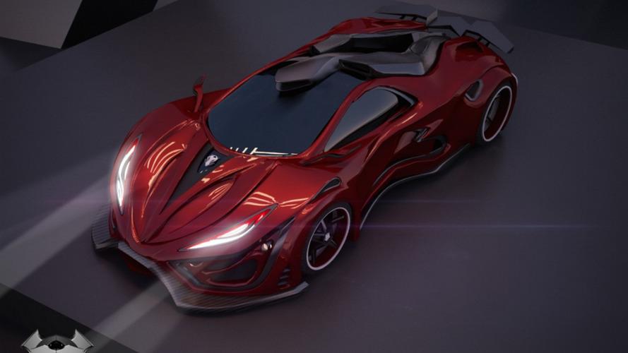 1,400-bhp Inferno supercar looks like an alien