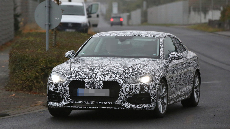 2017 Audi A5 returns in new spy photos