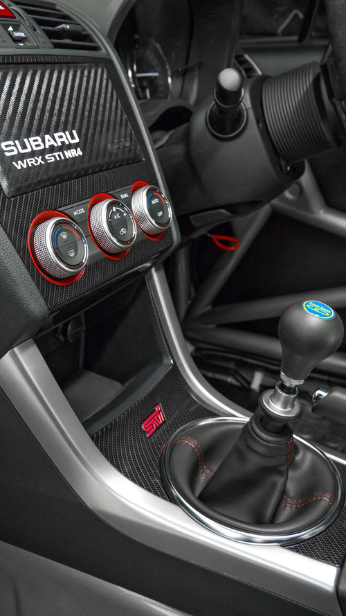 Subaru releases new details about the WRX STI NR4