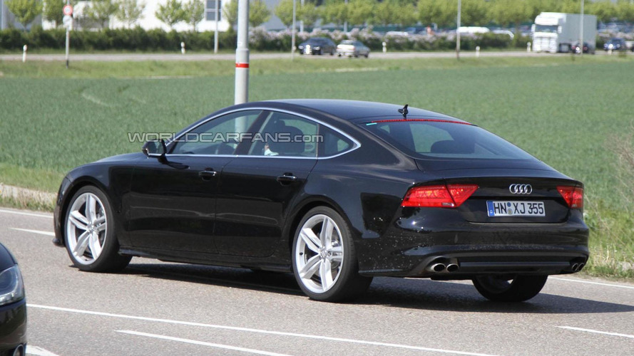 2012 Audi S7 spied showing new details