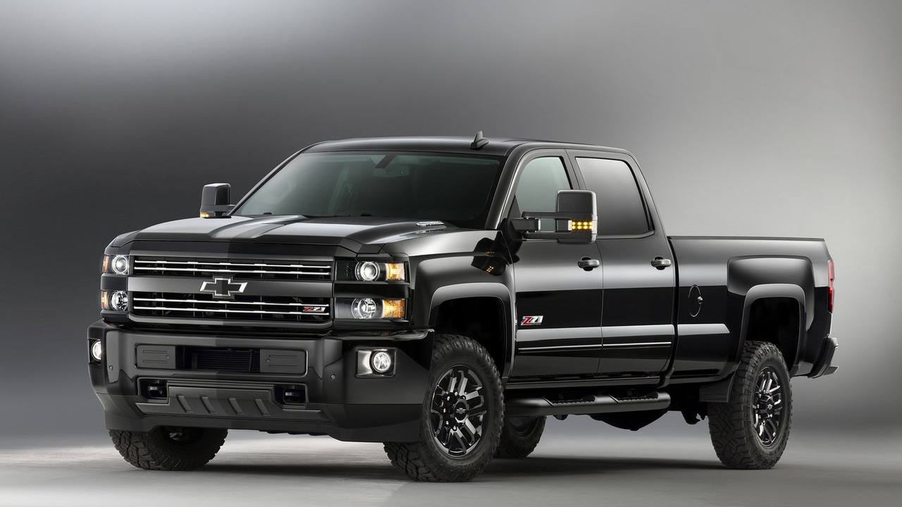 2016 Chevy Silverado 2500 Hd Z71 Midnight Edition