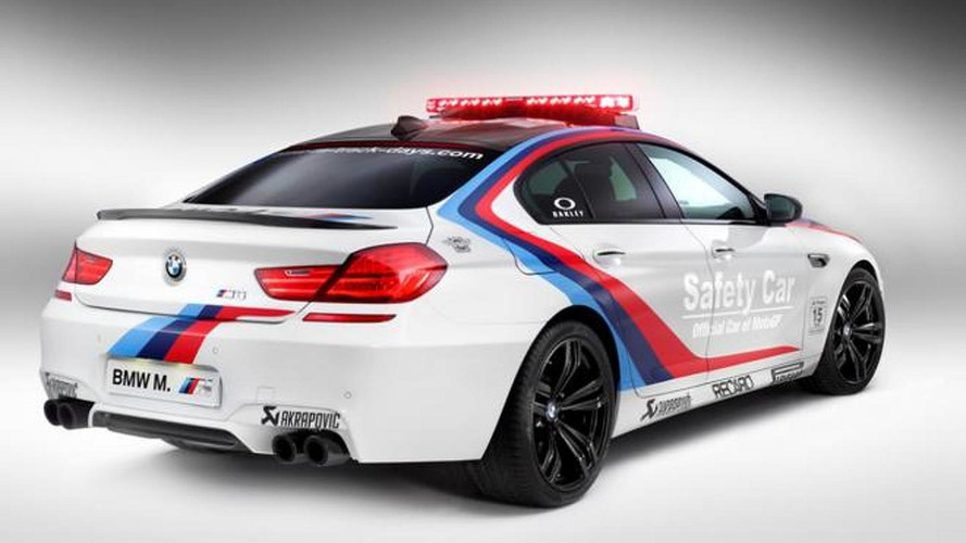 BMW M6 Gran Coupe MotoGP Safety Car revealed