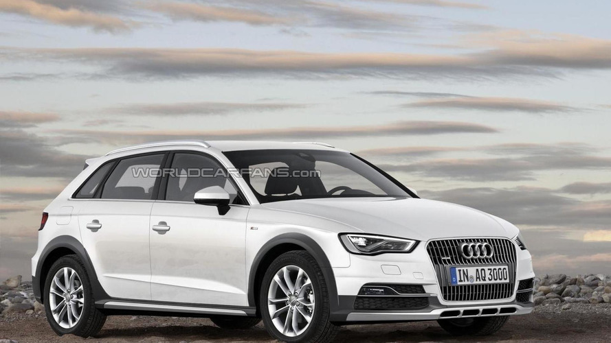 Audi A3 Cityhopper coming with lifted suspension, rugged body?