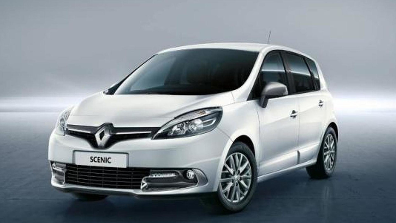 Renault Scenic Limited 26.4.2013