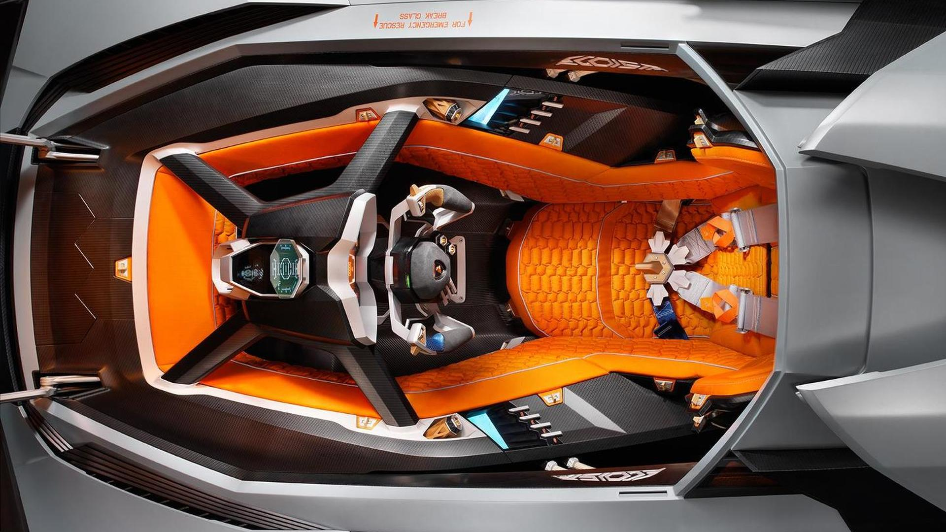 Lamborghini Egoista Debuts On Video