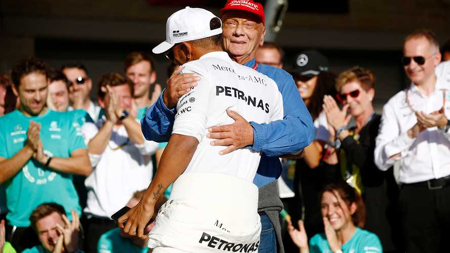 Hamilton still revisits texts from 'great pillar' Lauda