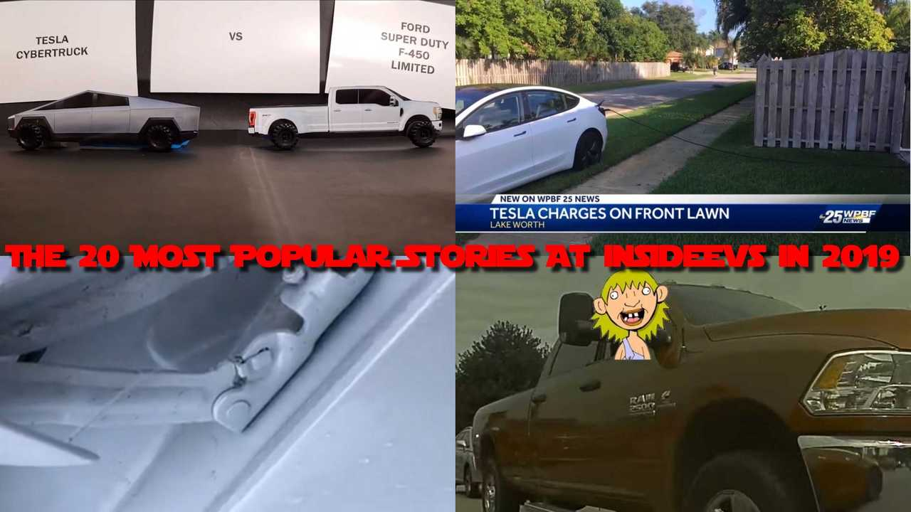 Check The 20 Most Popular Stories At InsideEVs In 2019