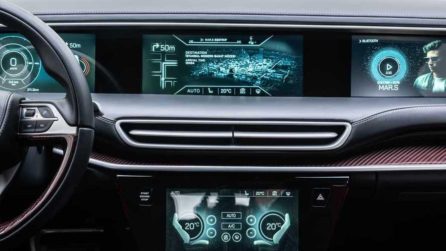 Yerli otomobilin akıllı özellikleri animasyonla anlatıldı