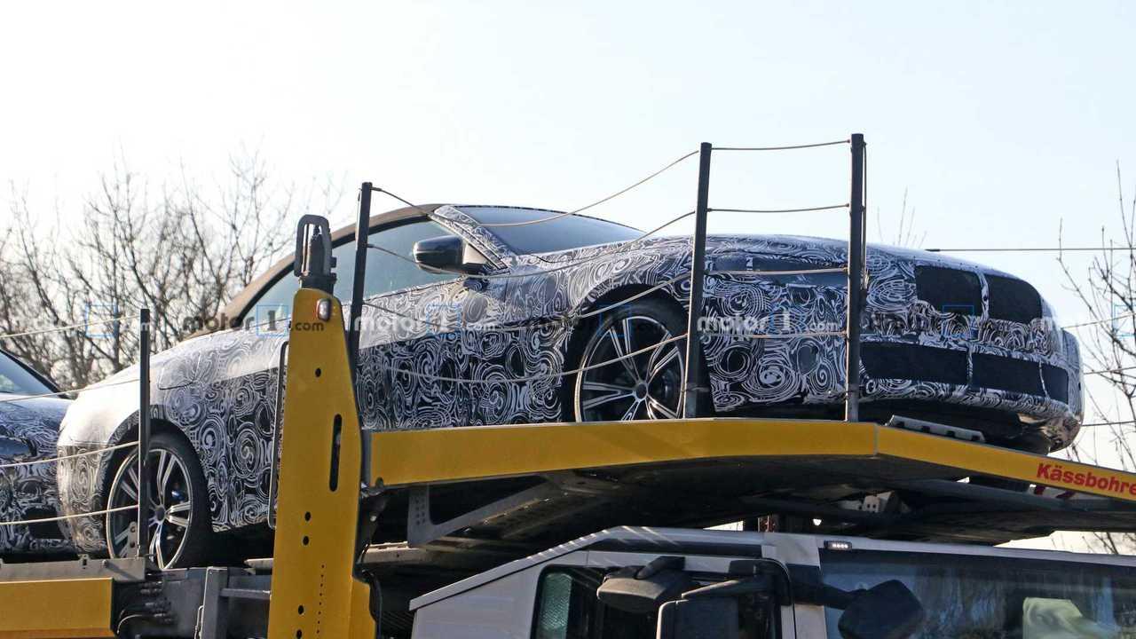 BMW 4 Series Convertible Spy Photos
