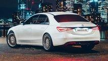 Render Mercedes-Benz Clase S 2021