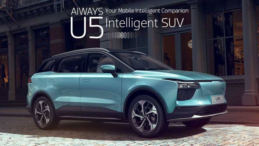 Chinese Aiways U5 EV SUV Touted As Being Very Safe
