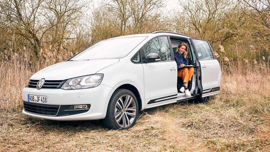 Volkswagen, l'ufficio in auto