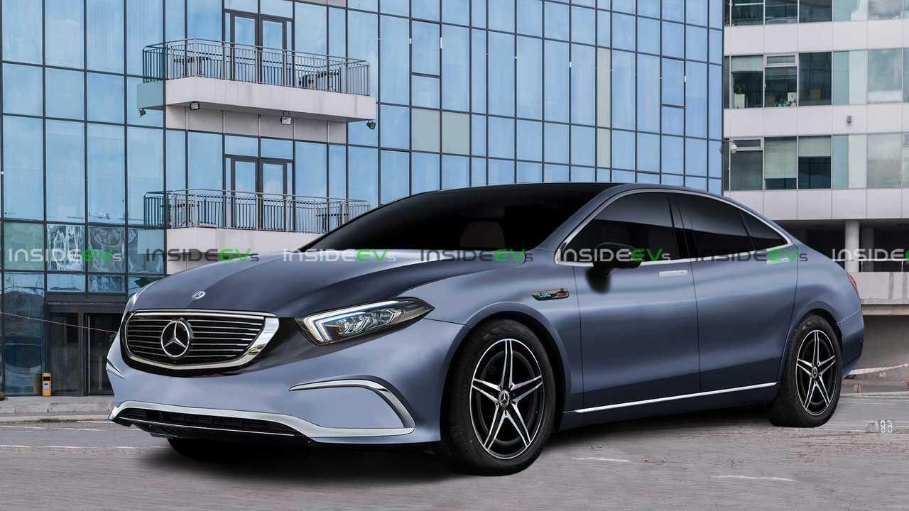 Renderização de EQE Mercedes-Benz