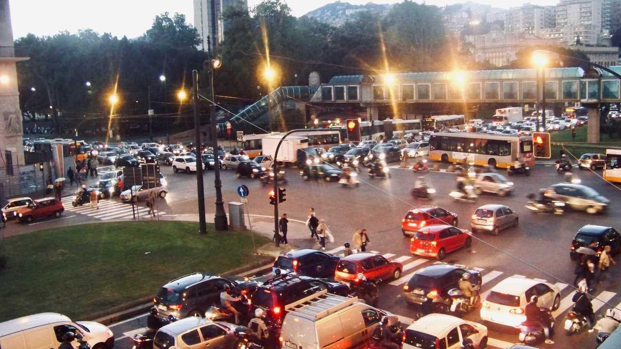 Foto traffico drama
