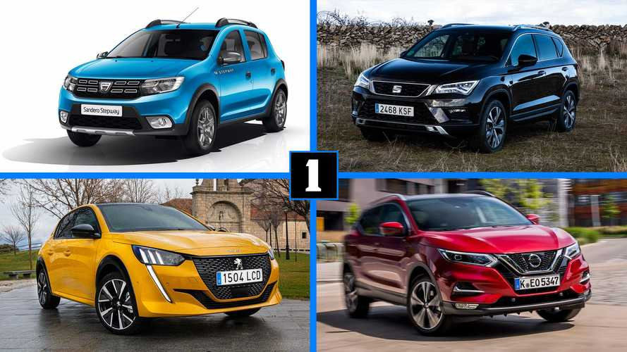 Descubre los 10 coches más vendidos en España (y sus precios con descuento)