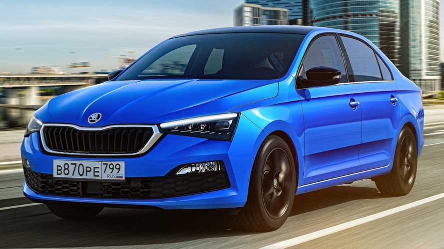 2020 Skoda Rapid revealed with strong Scala design cues