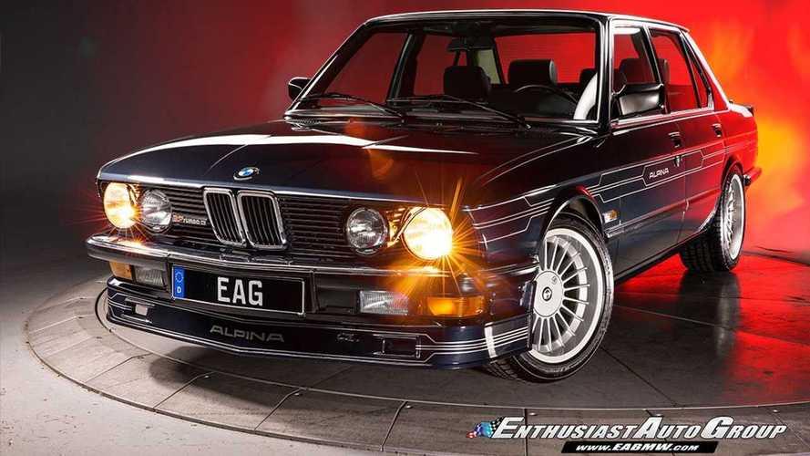 Eladó egy ultraritka átalakított BMW Alpina B7
