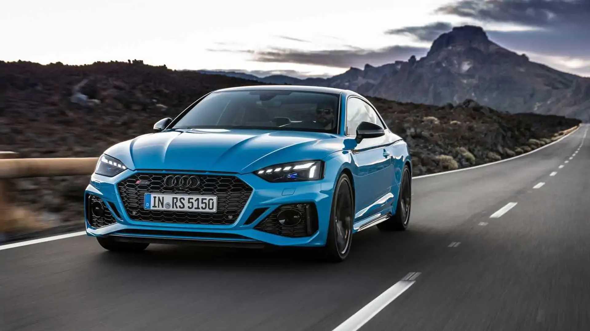 Audi Mmi Update >> Audi RS 5 und RS 5 Sportback Facelift: Neuer Look, gleiche Power