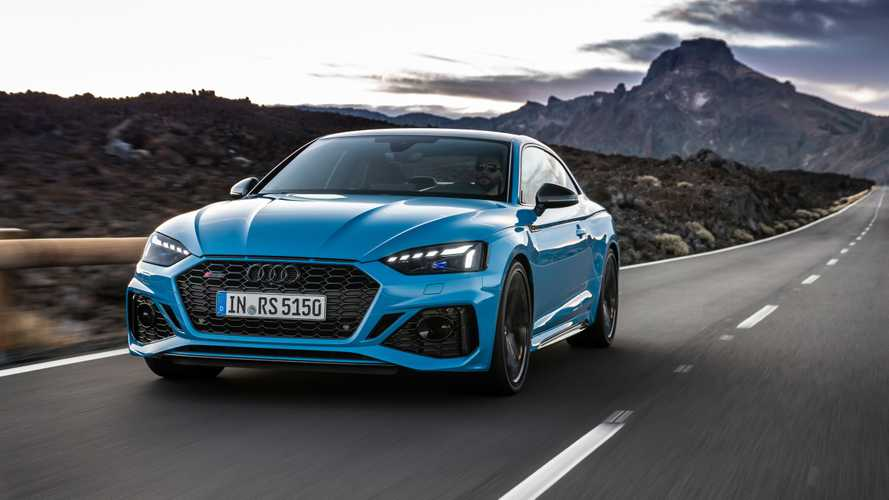 2020 Audi RS5 Coupe, RS5 Sportback facelift