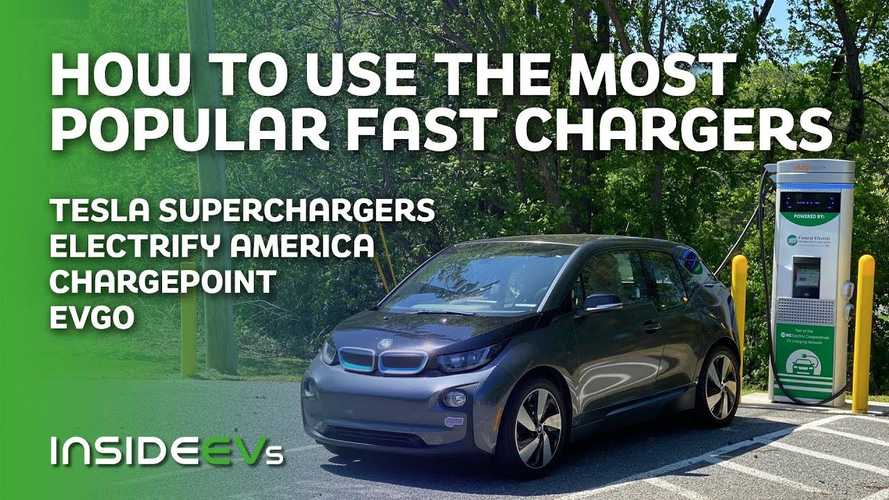 Here's How To Use The Most Popular EV Fast Chargers In The U.S.