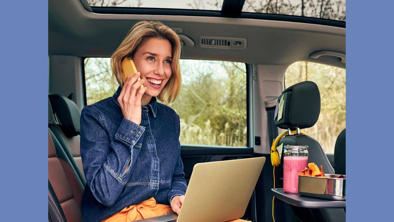 VW Sharan als rollendes Homeoffice