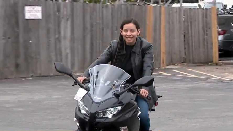 A Nurse's Bike Got Stolen So This Kawasaki Dealer Stepped Up