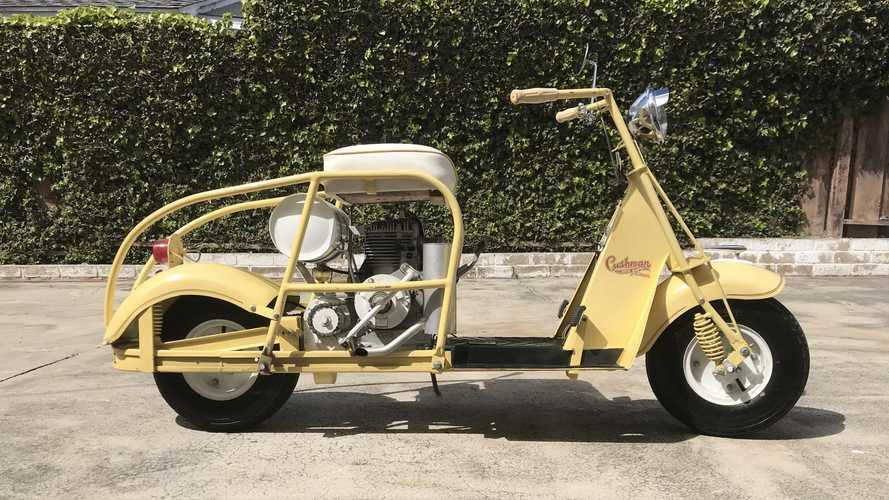 Stripped Down 1949 Cushman 54 Looking For A Good Home