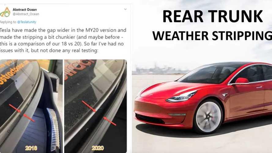 Tesla Model 3 Changes 2017-2020