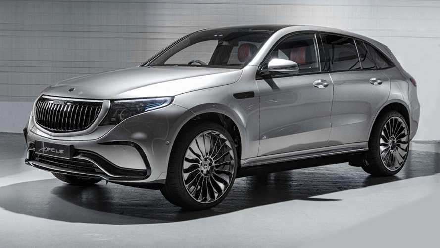 Hofele Design Makes Mercedes-Benz EQC Stand Out More