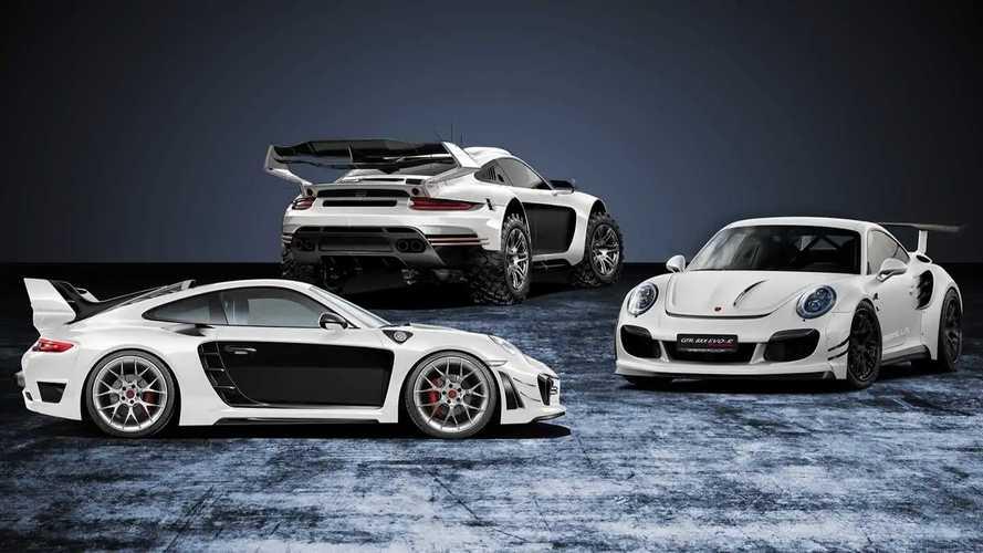 Gemballa Avalanche 4x4 на базе Porsche 911