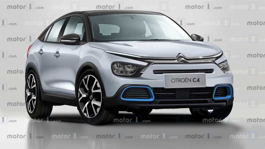 New Citroen C4 Rendered To Preview Cactus Replacement