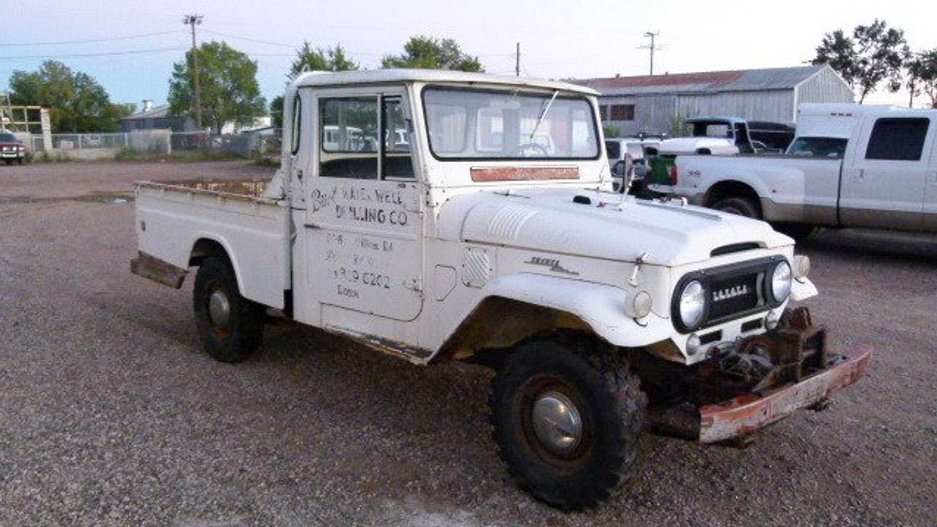 "[""Do As You Will With This Barn Find 1966 Toyota FJ45""]"