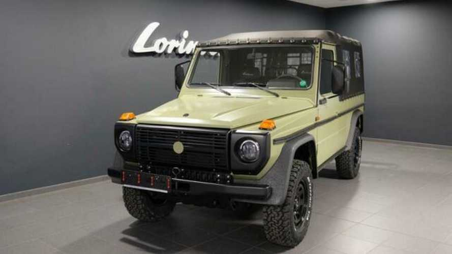 Dozens Of Army Mercedes G-Class SUVs Show Up For Sale