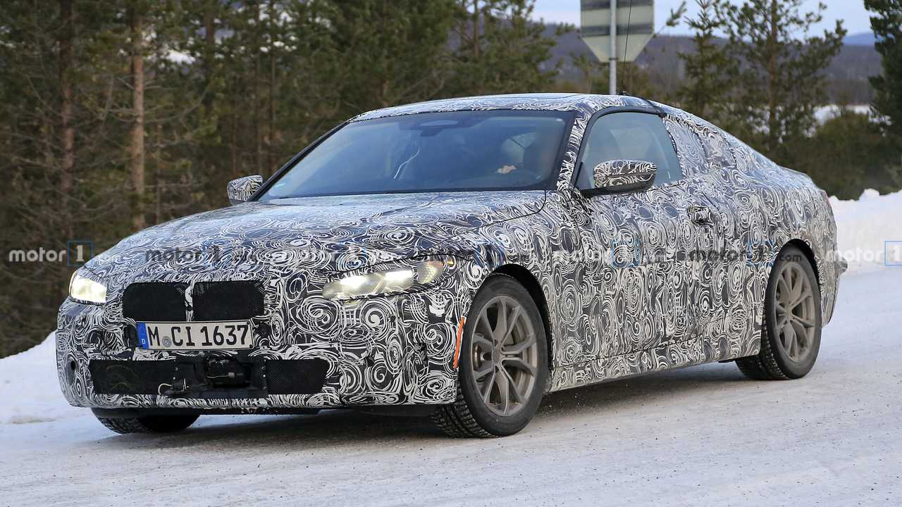 2020 BMW 4 Serisi casus fotoğraf