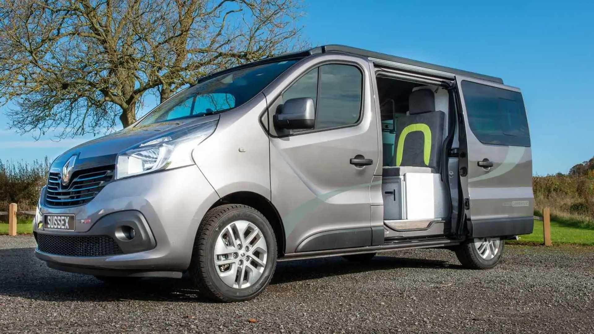 British Firm Creates 42 000 Renault Trafic Campervan