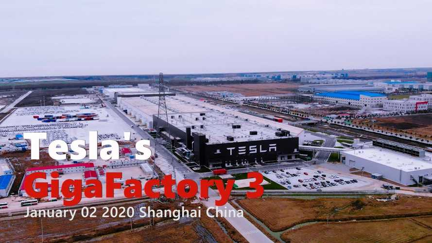 Tesla Gigafactory 3 Construction Progress January 2, 2020: Video